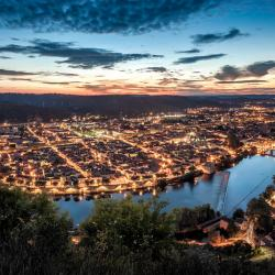 Cahors by night (vue du mont St Cyr)